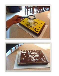 How easy it is to use the cake stencils from eidway. They are super easy, love love them