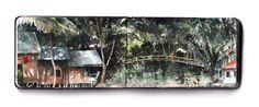 Riverside,Loksado, Kalimantan, (Borneo) by Keith Miller http://keithbangkok.tumblr.com/archive/2016/6