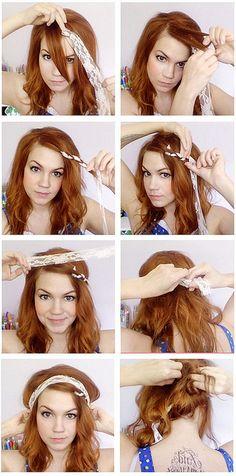 Lace Hair Tutorial