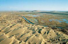 Así se ve el cuarto lago más grande del mundo a punto de extinguirse