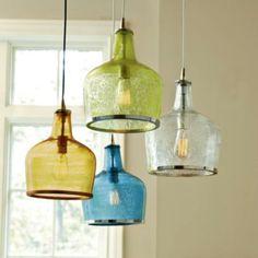 Colourful pendants