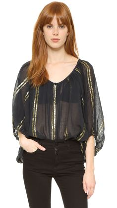 Mes Demoiselles Bodrum Top - Black | SHOPBOP.COM saved by #ShoppingIS