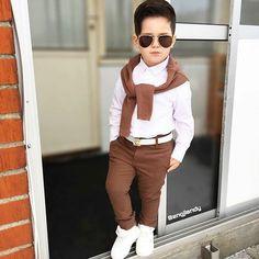 Insta Engjiandy - Outfits for Thiago - Kids Outfit Toddler Boy Fashion, Cute Kids Fashion, Little Boy Fashion, Toddler Boy Outfits, Toddler Boys, Outfits Niños, Insta Outfits, Stylish Boys, Cute Baby Boy