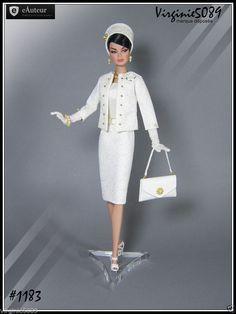 Tenue Outfit Accessoires Pour Fashion Royalty Barbie Silkstone Vintage 1183 | eBay
