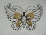 Wire butterfly