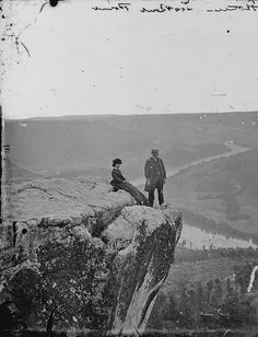 View from Lookout Mountain, Tenn, photo by Mathew B. Brady, 1861-1865 (National Archives and Records Administration)