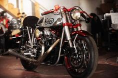 Norley Café Racer by Santiago Chopper