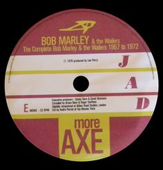 1998 - AB 0698-1 - The Complete Bob Marley & Wailers 1967 To 1972 Part 2 (4 LPs) - Jad Records