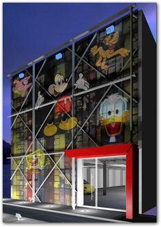 fachada de salón para fiestas infantiles