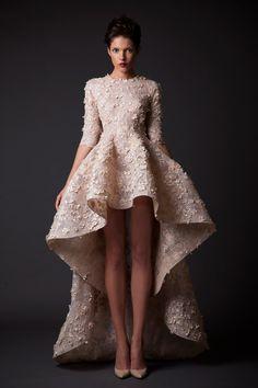 Krikor Jabotian Fall 2014 Collection. www.theweddingnotebook.com