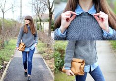 Maje Knitted, Zara Camel, Levi's Vintage, Cheap Monday Slim, Repetto Derbies