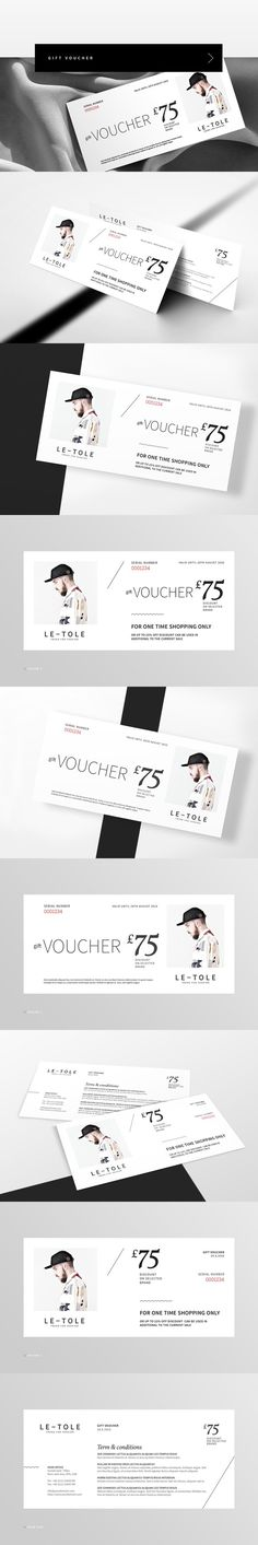 Fashion Gift Voucher Ai illustrator, Template and Gift - how to make a voucher