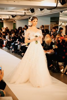 Oscar de la Renta, Bridal 2015. Photo by @Natasha Jahangir http://www.onephotographatatime.tumblr.com/