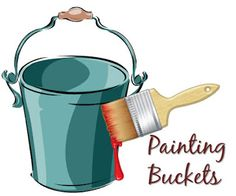 Bucket Outlet : How to Paint Galvanized Metal Buckets