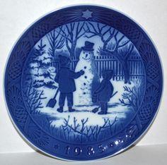royal copenhagen 1985 christmas plate ebay - Royal Copenhagen Christmas Plates