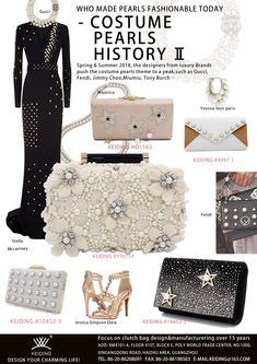 Keiding Pearl bag series. Get more information,please contact us   keiding 163.com  SS18Fashiontrendresearch  2018fashionstyle 76cbdb51e8