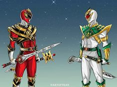 MMPR Battle of The Leaders | King Tyrannous vs. Lord Drakkon - Artist: Tinh Hung Vo Tran #∆∆shani