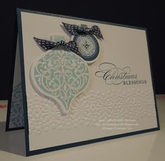 Trinity Designs: Ornaments in Blue
