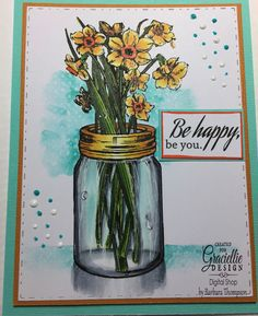 Featuring Simple Wisdom from Graciellie Design.  See my blog for more details at http://cardsandpaperfun.blogspot.com/2017/06/daffodil-jarfirst-day-of-summer.html
