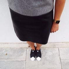 AnotherEight - Queens Of Hackney Outfit - Another Eight dress - Adidas Original slip-on - See more on my blog!