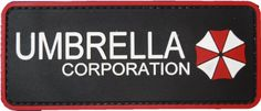 Resident Evil Umbrella Corporation Morale Patch with velcro