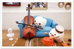 milk toof playing music