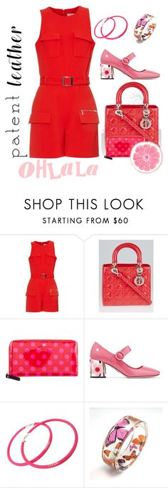 """Ohlala"" by joyfulmum ❤ liked on Polyvore featuring Thierry Mugler, Christian Dior, Kate Spade, Prada and Chanel"