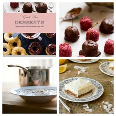 Guilt Free Desserts and Dairy Free Recipes - Guilt Free Desserts and Making Dairy Free Easy