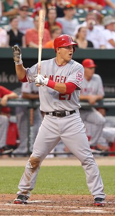 "Mike Trout...""hang on blue. Im deciding where to hit this fuc*ing monster homerun..."" lmao"