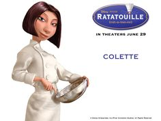 """disney ratatouille colette 