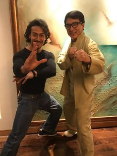 Tiger Shroff's life comes full circle as he meets his icon Jackie Chan!
