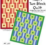 Kaye's Two Block Quilt - via @Craftsy Could use T shirt designs in place of squares similar to http://keepsakesewing.blogspot.com/2010/01/t-shirt-quilt-for-graduation.html