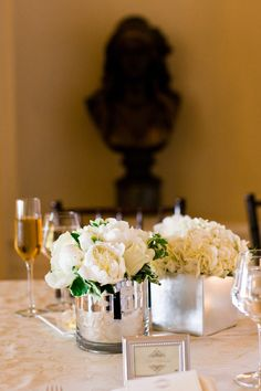 Photography: Cliff Brunk Photography / Floral: Leighsa Montrose of Branch Out Floral & Event Design / Catering + Day of Coordination: Global Gourmet / Rentals: Blue Water Party Rentals / String Quartet: Exeter String Quartet / Piano: Kent Strand / Lighting: Got Light / Cake: Jasmine Rae Bakery / Dress: Custom Gown from Watters / Paper Printing: Mercurio Brothers Printing / Venue: Flood Mansion, San Francisco, CA