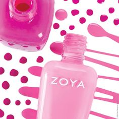 Zoya in Audrina and Shelby Pink Nail Colors, Manicure Colors, Mani Pedi, Manicure And Pedicure, Pedicures, Perfect Pink, Pretty In Pink, Hair And Nails, My Nails