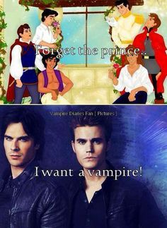 I want a vampire...or both