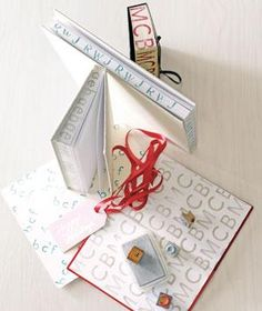 Monogrammed Journal | Whip up these gifts as easily as that cotton-ball snowman you made 30 years ago.