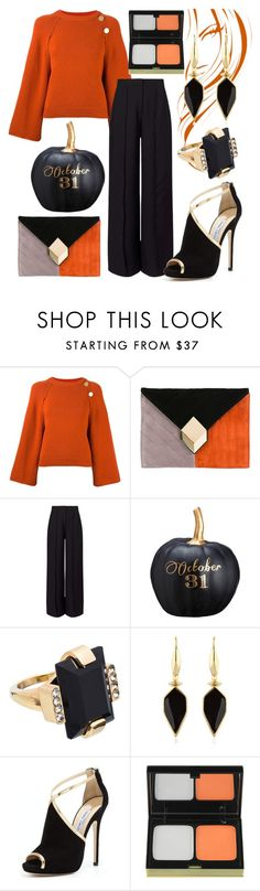 """""""466"""" by robertaelisa ❤ liked on Polyvore featuring Vanessa Bruno, Pierre Hardy, Miss Selfridge, Allstate Floral, Marni, Isabel Marant, Jimmy Choo and Kevyn Aucoin"""