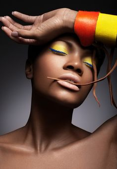A Celebration Of The Rich Heritage And Beauty Of Black Women Makeup Art, Beauty Makeup, Gold Makeup, Makeup Lipstick, African Models, My Black Is Beautiful, Dark Beauty, Ebony Beauty, Beauty Editorial