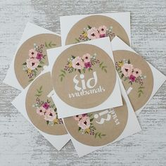 Eid Stickers 'Flowers'