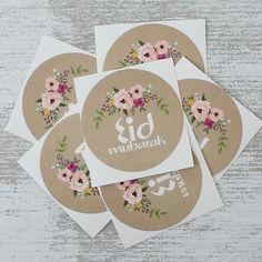 Eid Stickers 'Flowers'