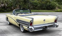 1958 Buick Roadmaster convertible