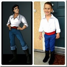 Homemade Prince Eric Costume