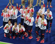 Great Britain Hockey ladies win The Olympic Gold in Rio 2016