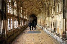 Alnwick Castle was used in Harry Potter