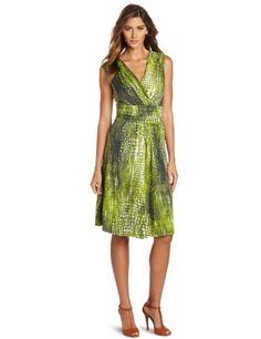 Reviews Jones New York Women's Wrap Dress, Multi, Large