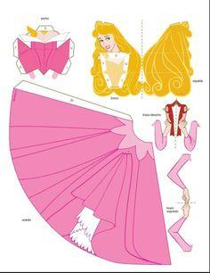 Molde de princess