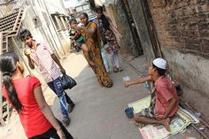 The Spastic Beggar of Bandra