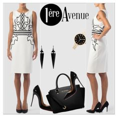 White lily   http://premiereavenue-boutique.polyvore.com/ - http://www.1ereavenue.com/  #premiereavenue #StreetSyle  @premiereavenue-boutique #JosephRibkoff #classy @polyvore @polyvore-editorial @premiereavenue-boutique   Buy here   http://www.1ereavenue.com/en/joseph+ribkoff+dress+style+153305-p8084/