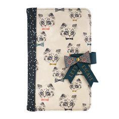 Meow Travel Wallet by Poppy Kitten Designs