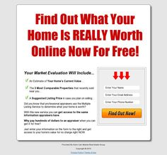 Own a home in the greater Marietta, GA area?  Find out what your home is worth for free!